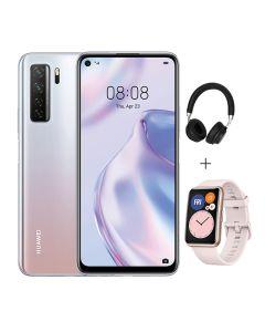Huawei P40 Lite 5G 128GB + Bluetooth Headset + Huawei Watch Fit - Space Silver
