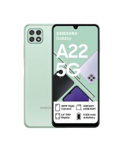 Samsung Galaxy A22 5G Single Sim 64GB in Light Green sold by Technomobi