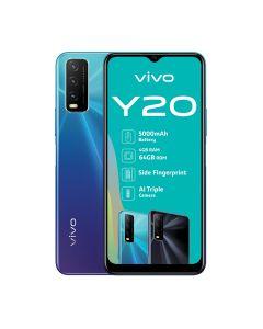 vivo Y20 Dual Sim 64GB - Nebula Blue