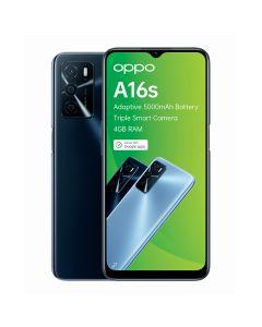 Oppo A16s Single Sim 64GB in Crystal Black sold by Technomobi