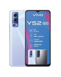 Vivo Y52 5G Single Sim 128GB in Polar Blue sold by Technomobi