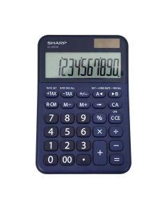 Sharp EL-M335B 10-Digit Calculator - Blue