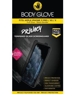 Body Glove Apple iPhone 11 Pro 2019/X/XS Privacy Screenguard - Black