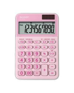 Sharp EL-M335B 10-Digit Calculator - Pink