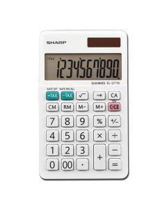 Sharp EL-377WB Calculator - White