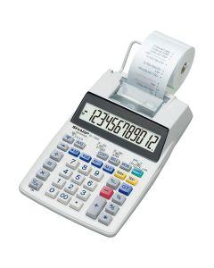Sharp EL1750 Print Calculator - White