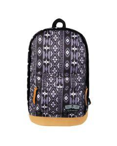 Volkano Suede Series Backpack - Ethnic Dark Grey