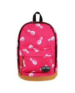 Volkano Suede Series Backpack - Pineapples Pink