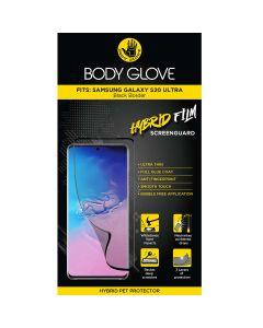 Body Glove Samsung Galaxy S20 Ultra Hybrid Screenguard - Black