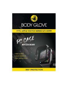 Body Glove Apple Watch Series 5/6 40mm PC Case With Screenguard - Black
