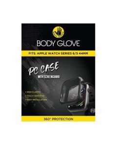Body Glove Apple Watch Series 5/6 44mm PC Case With Screenguard - Black