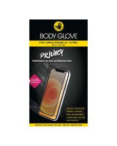 Body Glove Apple iPhone 12/ 12 Pro Privacy Tempered ScreenGuard - Black