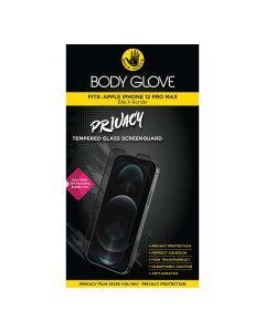 Body Glove Apple iPhone 12 Pro Max Privacy Tempered ScreenGuard - Black