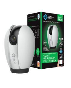 Connex Connect Smart Wi-Fi 1080P IP Camera PTZ - White