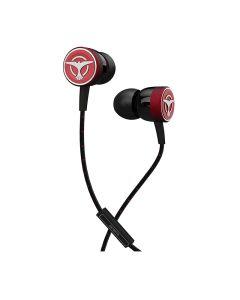 Tiesto ClubLife Maximal Wired In Earphones - Red