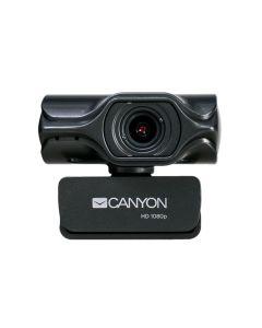 Canyon C6 2K Ultra HD 3.2MP Webcam -Black