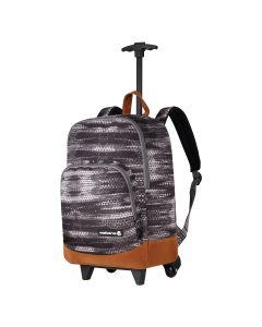 Volkano Diva Geo Trolley Backpack - Grey