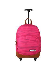 Volkano Diva Waves Trolley Backpack - Pink