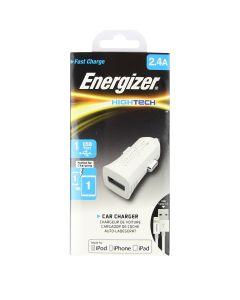 Energizer Apple Lightning 2.4 Amp Car Charger