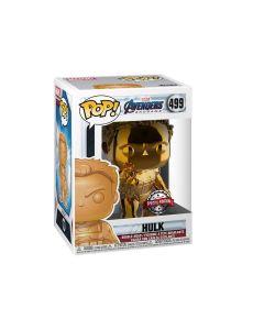 Funko Pop! Marvel: Avengers Endgame - Hulk Orange Chrome sold by Technomobi