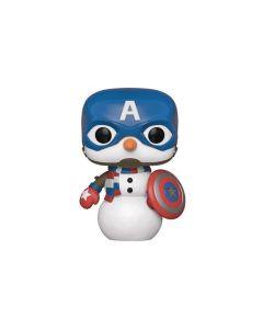 Funko Pop! Marvel: Holiday - Capt America