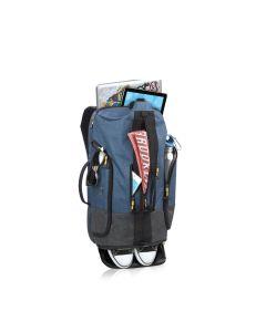 Solo Weekender Backpack Duffel - Blue / Grey