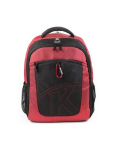 """Kingsons K Series 15.6"""" Laptop Backpack with Keychain - Red"""