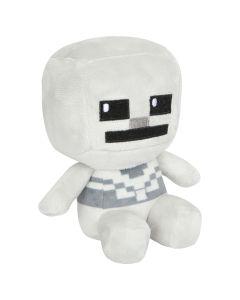 Minecraft: 4.5 Inch Mini Skeleton Plush - White