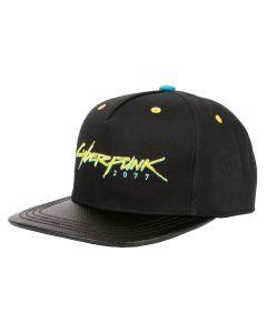 Cyberpunk 2077: Logo-Snapback Cap - Black
