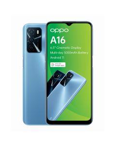 Oppo A16s Single Sim 64GB in Pearl Blue sold by Technomobi