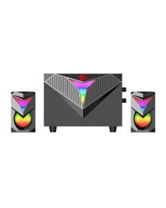 Redragon PC Speaker Toccata RGB 11W 2.1 in Black sold by Technomobi