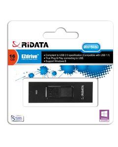 Ridata Mini Slider 16GB USB Memory Stick / Flash Drive