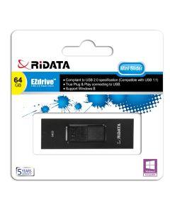 Ridata Mini Slider 64GB USB Memory Stick / Flash Drive
