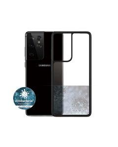 Panzerglass Samsung Galaxy S21 Ultra Clear Case Black Edition - Clear