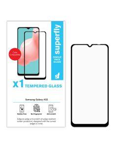 Superfly Tempered Glass Samsung Galaxy A32 4G - Black