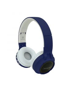 Superfly Wireless Bluetooth Headset in Navy and White sold by Technomobi