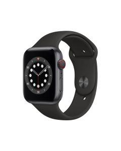 Apple Watch Series 6 GPS 44Mm - Space Grey Aluminium Case With Black Sport Band Regular