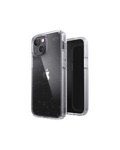 Speck Apple iPhone 13 Mini/12 Mini Presidio Perfect Glitter Case - Clear/Platinum Glitter