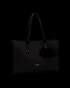 SupaNova Pompom Ladies Laptop Bag Black
