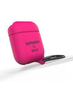 Superdry Apple Airpod Waterproof Case - Pink