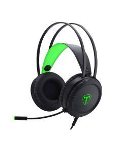 T-Dagger Ural Stereo Gaming Headset - Black/Green