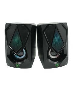 T-Dagger  2 x 3W 3.5mm RGB Speakers in Black sold by Technomobi