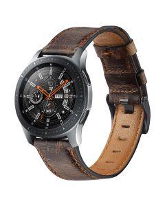 Toni Genuine Leather Watch Strap 22mm in Dark Brown sold by Technomobi