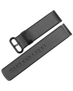Toni Nylon Watch Strap 20mm - Black