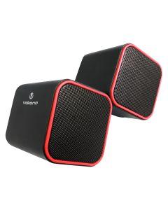 Volkano Diamond Series USB Speaker - Red