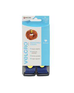 Velcro® Brand Adjustable Strap 25Mm X 92Cm Blue