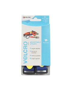 Velcro® Brand Adjustable Strap 25Mm X 46Cm Blue