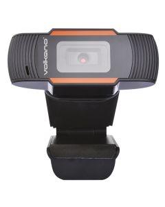 Volkano Zoom 720P Webcam - Black