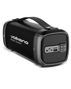 Volkano Bazooka Squared Series Bluetooth Speaker - Black