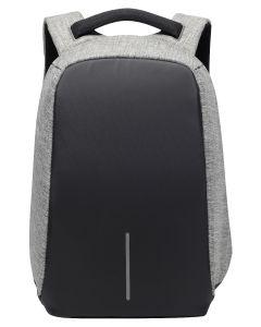 Volkano Smart Laptop Backpack Black/Charcoal Anti-theft